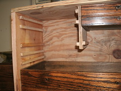 New Wood Tool Box, Machinist Chest, used drawers. I made a box for the excess Gerstner drawer  accumulation. 10-2014