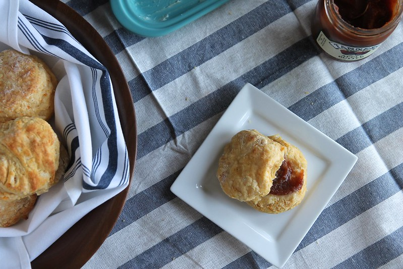 Fluffy Sweet Potato Biscuits