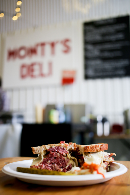 Salt Beef at Monty's Deli