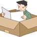 Unique illustrations - Box life