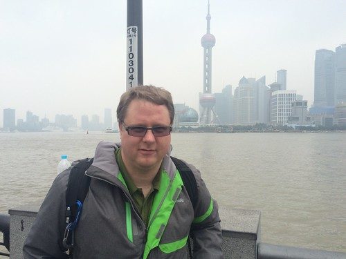 Look Ma, I'm in Shanghai