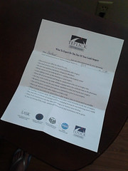 Lasik Letter