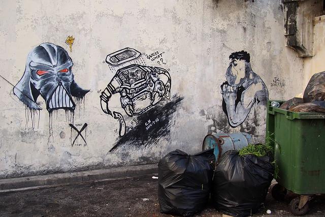 grafitti, Georgetown, Penang, Malaysia