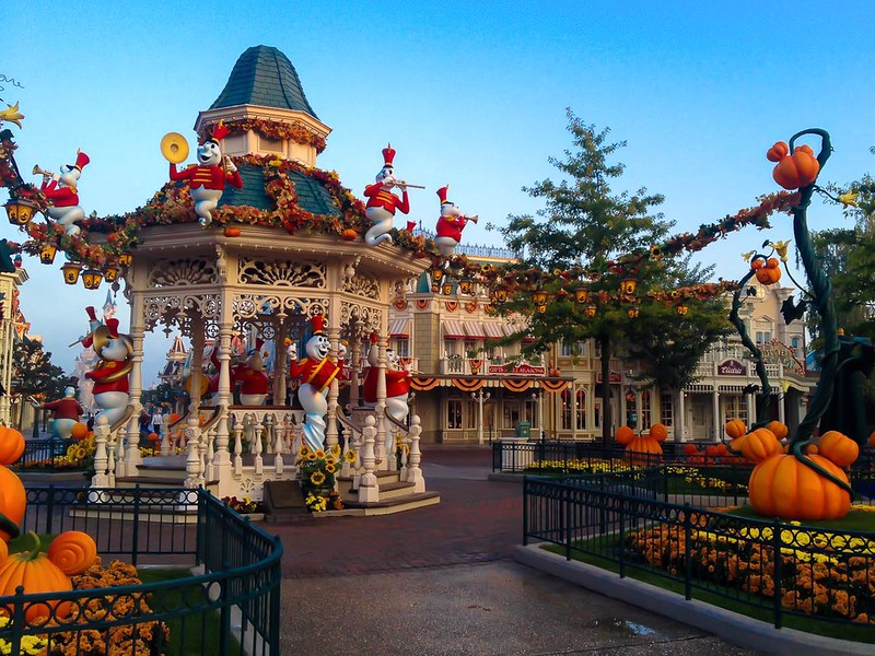 Town Square Halloween Decorations