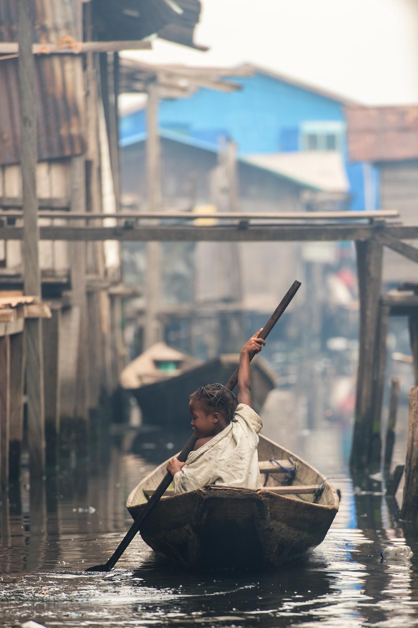 Makoko Little Paddler