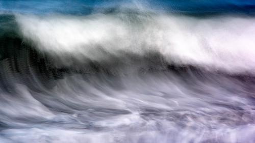 water waves stlucia photoimpressionism