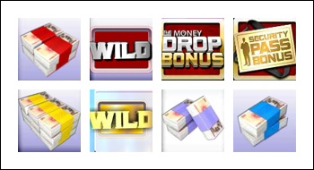 free The Money Drop slot game symbols