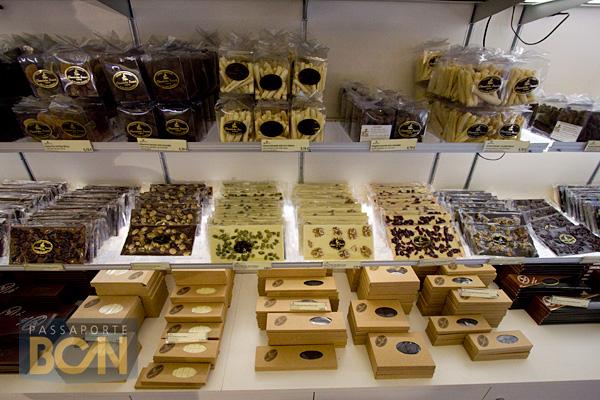 Chocolates Brescó, Barcelona