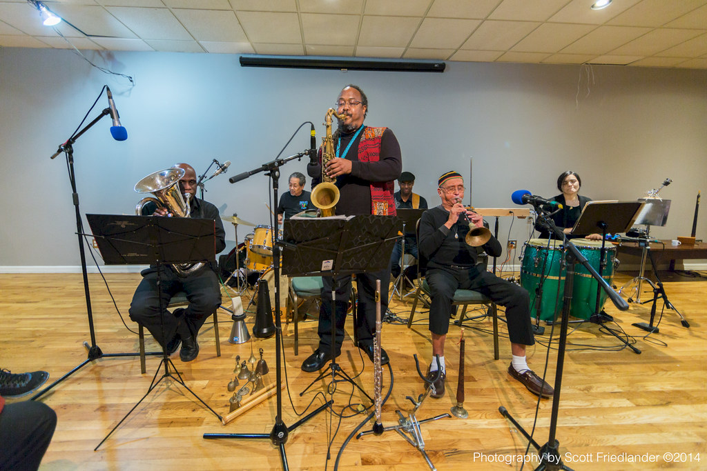 Bill Cole's Untempered Ensemble (with Bill Cole, Warren Smith, Joseph Daley, Ras Moshe, Lisette Santiago, and Gerald Veasley): 11-13-14 The Commons Brooklyn
