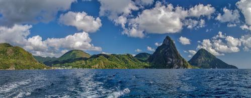 panorama caribbean caraïbes saintlucia