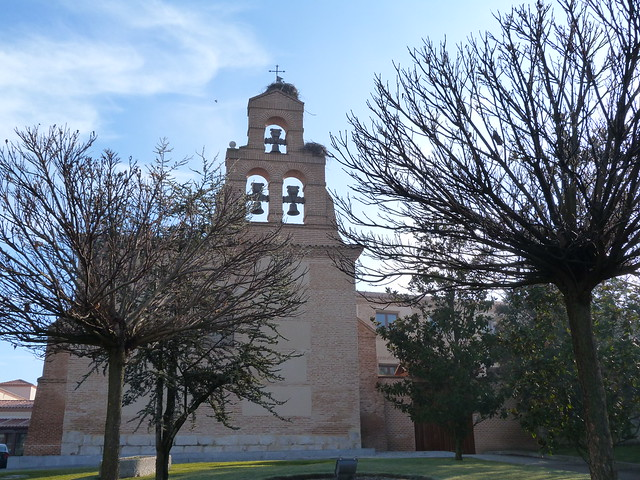 Iglesia Sancti Spiritus de Olmedo, donde se encuentra el Balneario