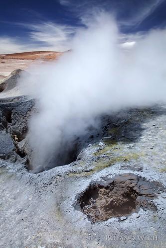 sol mañana america de tour south bolivia geyser geysir manana altiplano uyuni bolivie geyer altoplano geysirfeld solm