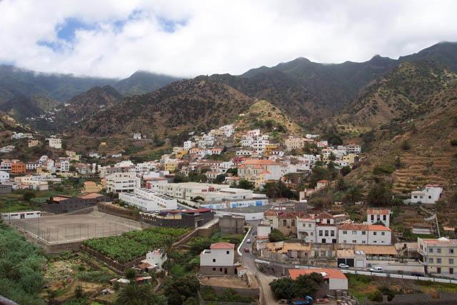 Vista de Vallehermoso. © Paco Bellido, 2003