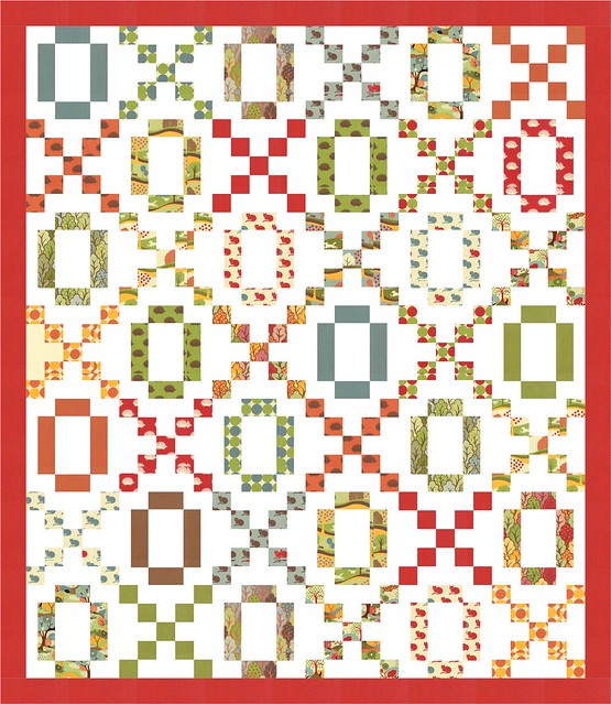 Hugs & Kisses (XOXO) quilt