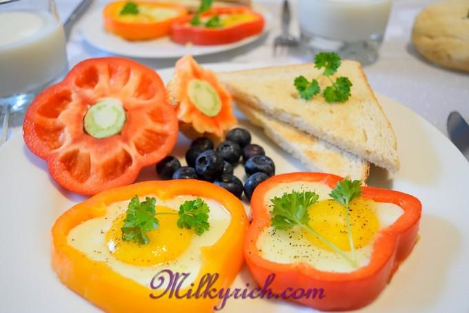 5- Bữa sáng trứng chiên