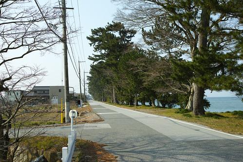 琵琶湖湖畔石寺