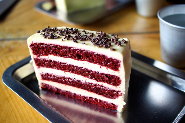 red velvet cake, Rouse, Dunlop Street