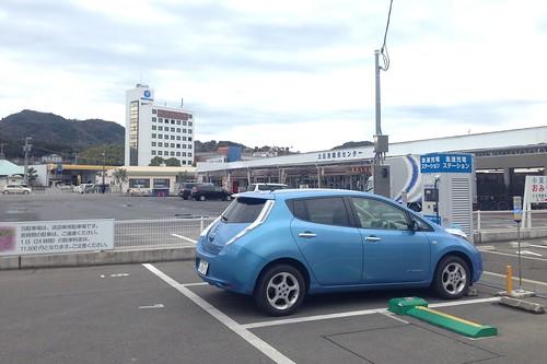 土庄港 電気自動車用急速充電器