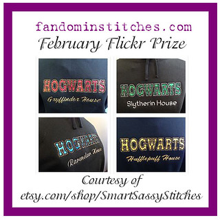 February 2015 fandominstitches.com Flickr Participation Prize