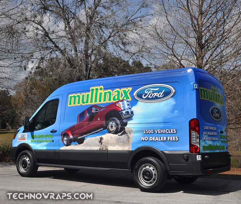 Ford Transit van wrap by TechnoSigns in Orlando, Florida