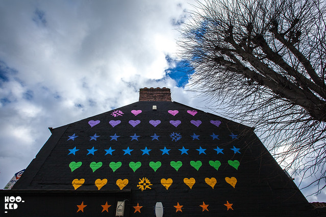 Supersized 'Game On' Mural in E17 by We Like Static