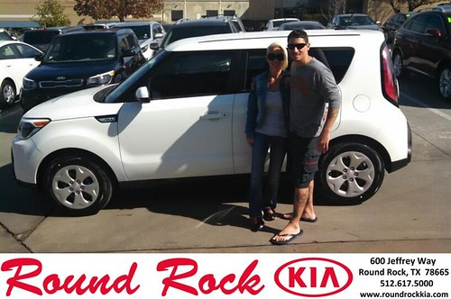 Congratulations to Richard  Bernard on your #Kia #Soul purchase from Jenifer  Harris at Round Rock Kia! #NewCar