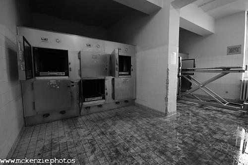 the hospital morgue