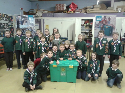 ShelterBox with Howden Cub Scouts