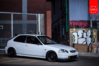 Wesley's all motor Civic