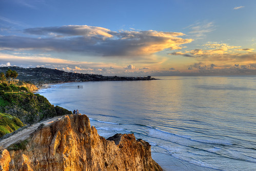 ocean california usa clouds pier nikon sandiego lajolla cliffs pacificocean californiacoast d800 markwhitt markwhittphotography