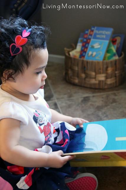 Exploring the Book Montessori: Letter Work