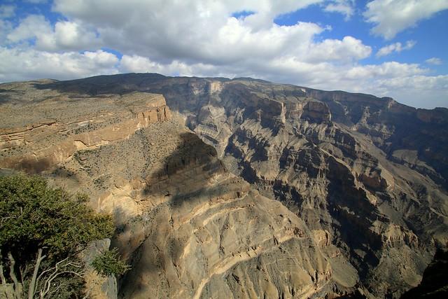 Wadi Nakhr, the Grand Canyon of Oman