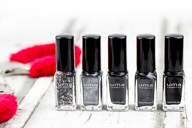 Fifty Shades of Grey Nagellack, Fifty Shades of Grey Nailpolish, grauer Nagellack, schwarzer Nagellack