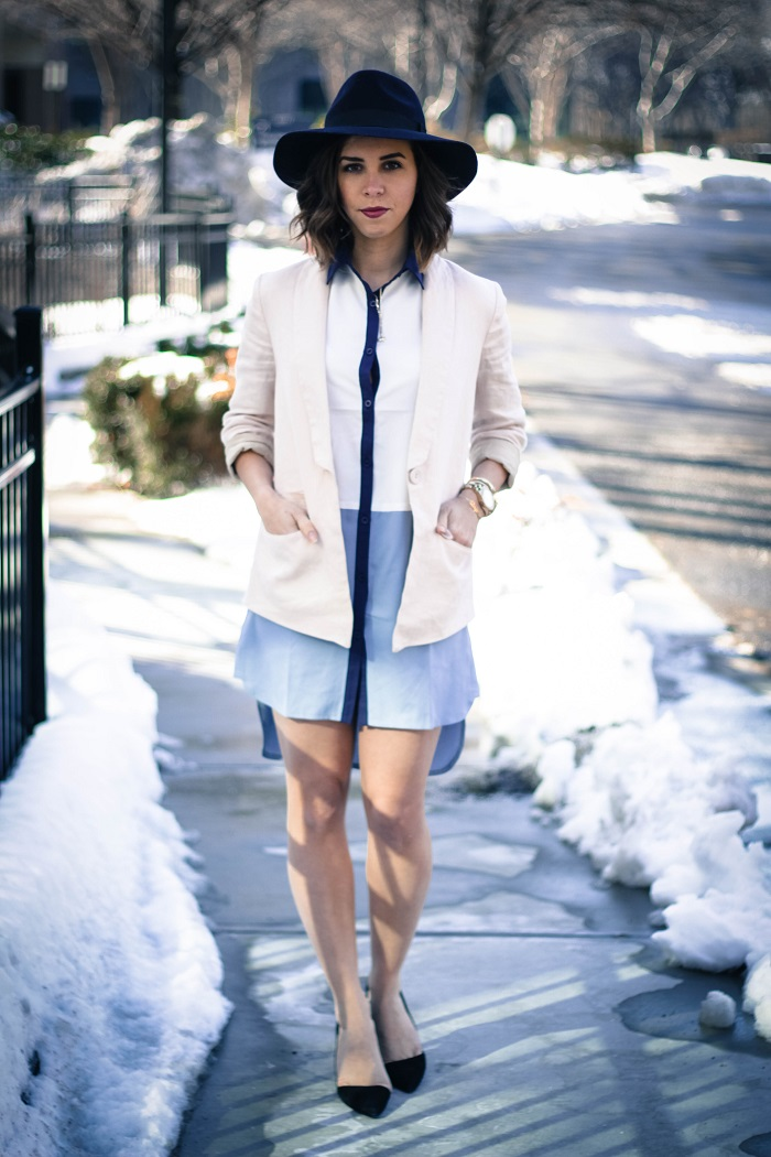 aviza style. andrea viza. fashion blogger. dc blogger. shirt dress. spring 2015 trend. asos shirtdress. trend. fashion. style. 5
