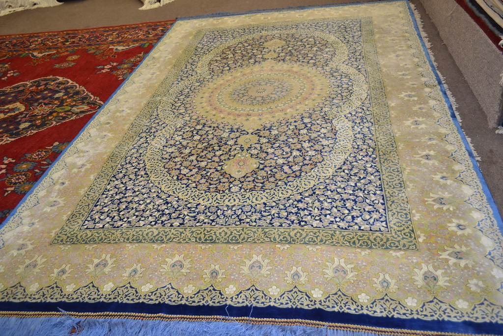 Master Piece 1000 KPSI Qum Pure Silk Persian Area Rug 5x7 by Samadi (13)