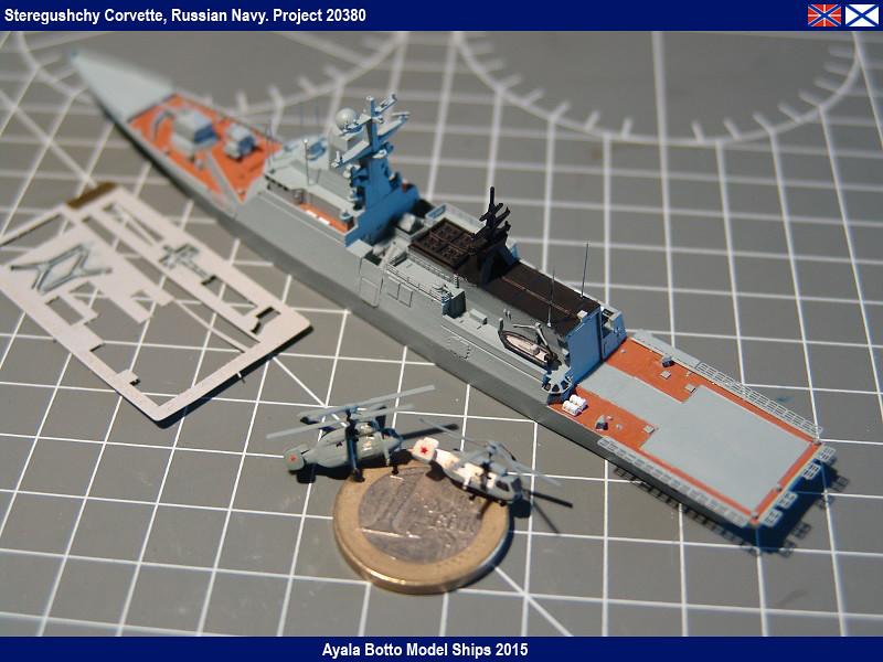 Corvette Russe Steregushchy 530, Project 20380 - Gwylan Models / Combrig 1/700 16623334831_75189ac30b_b