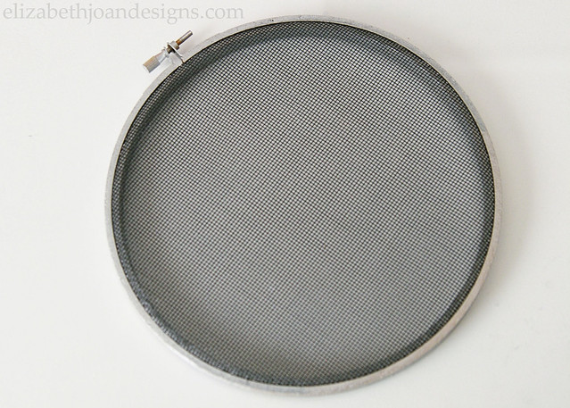 Embroidery Hoop Screen Cover