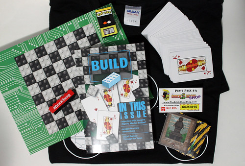 Brick Builders Club February 2015 Box