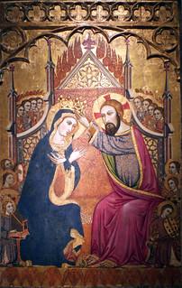 Coronación de la Virgen. Atr. Joan Daurer