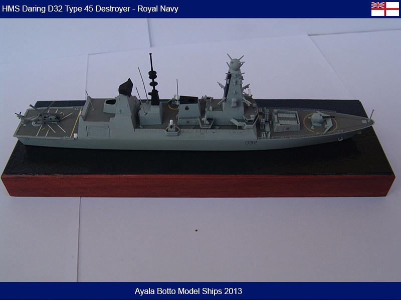 HMS Daring D32 Type 45 Destroyer Royal Navy - Cyber Hobby 1/700 16673862141_9d2f747147_c