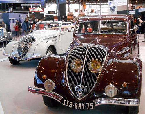 DSCN7757 Peugeot 402 cabriolet e limousine