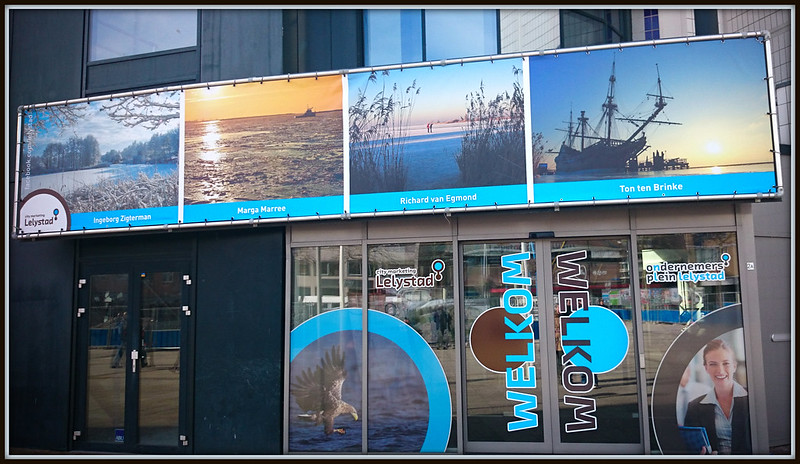 Gevelfoto Citymarketing Lelystad (07-03-2015).