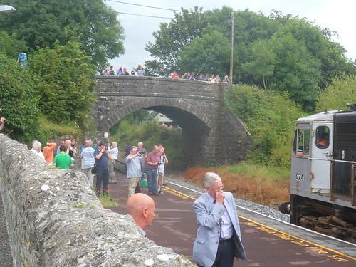 Irish Rail 074 & Cravens Cloughjordan.