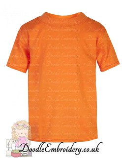 T-shirt - Orange copy