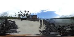 Pu`uhonua O Hōnaunau National Historical Park - a 360 degree Equirectangular VR