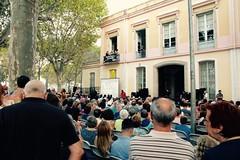 ds., 20/08/2016 - 20:33 - L'alcaldessa assisteix al Pregó de la Festa Major de Sants