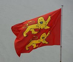 Mont Saint-Michel, bandera de Normandia
