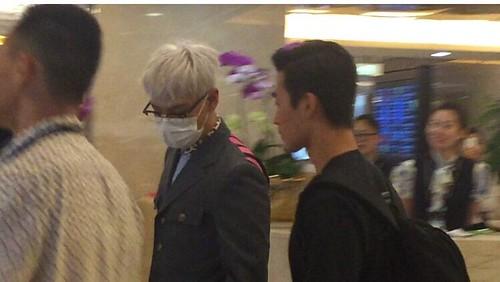 BIGBANG arrival Shenzhen Airport 2015-08-07 (5)