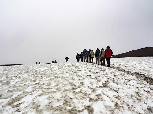 askjavulkaan iceland kratermeer lavaformaties norðurlandeystra ijsland is