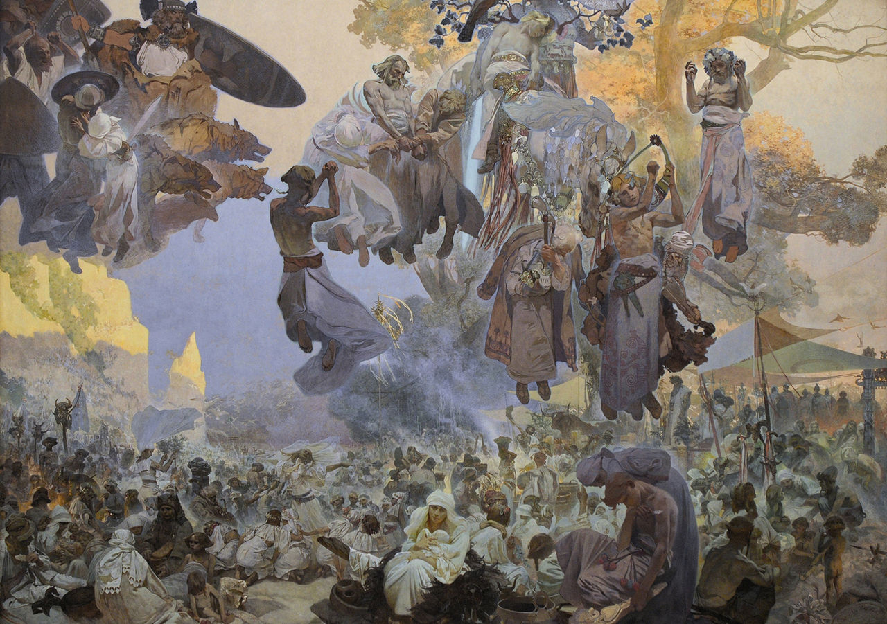 Mucha's The Slav Epic, 1911